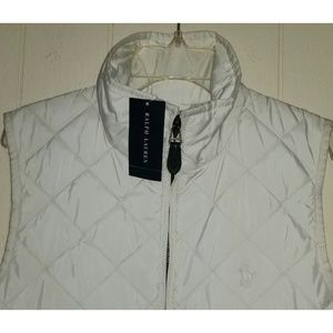 RALPH LAUREN WOMEN'S VEST SIZE: MEDIUM